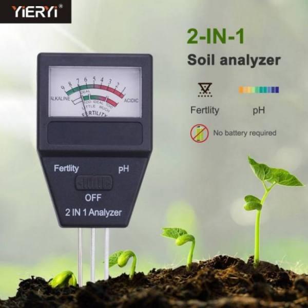 Yieryi 2019 new soil meter fertili