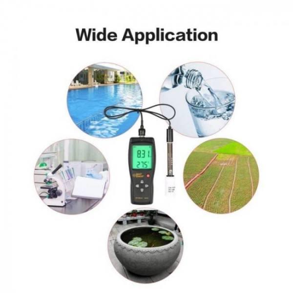 Smart sensor as218 digital ph mete