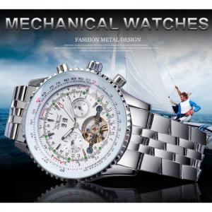 Jaragar fashion mens mechanical wa