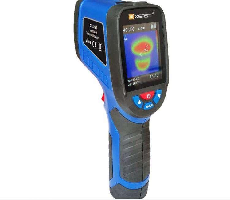 Thermal imaging camera handheld 2.4 inch color screen xeast