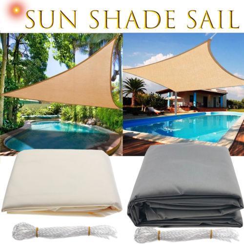 Waterproof sun shelter triangle su