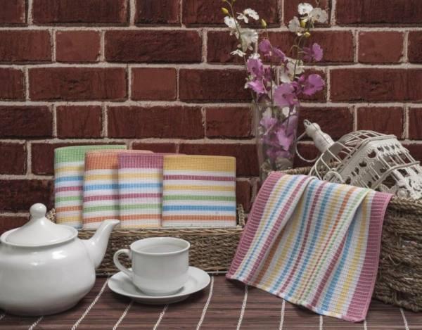 Striped sapkin kitchen towel 12 pc