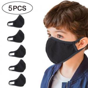 5pc kids mascarillas reusable cott