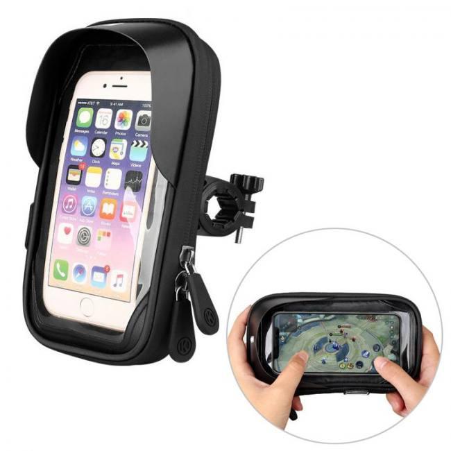 6.4 inch waterproof bicycle phone