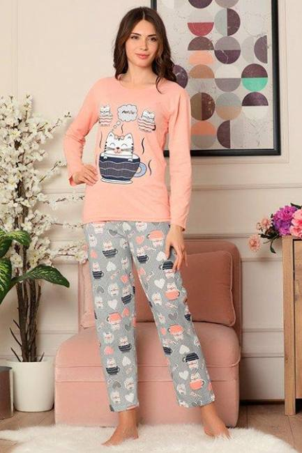 Women's pajamas set cotton t