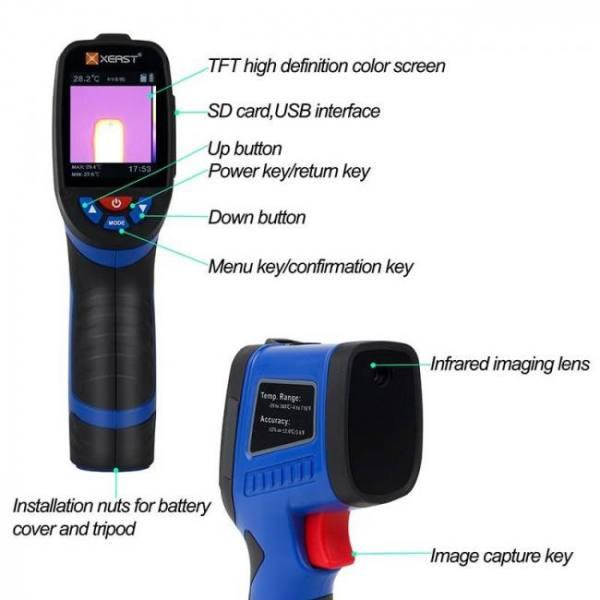 Xeast thermal imaging camera image
