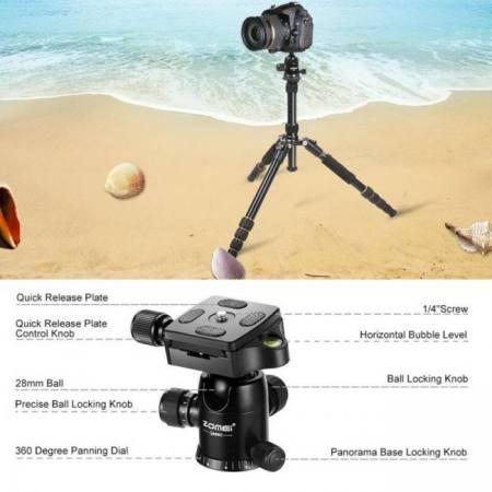 Zomei q666 professional camera tri