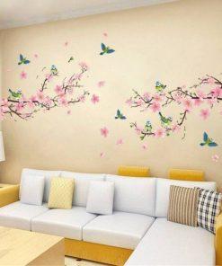 1 pc sakura wall stickers kids roo