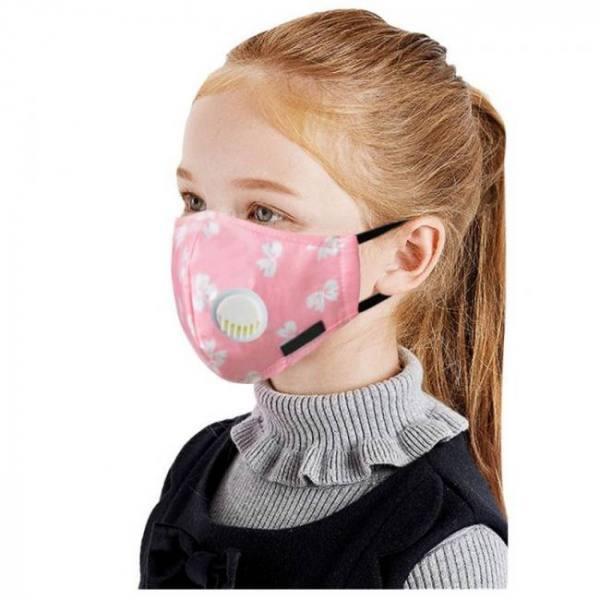 4pcs cute cartoon pm2.5 mouth mask