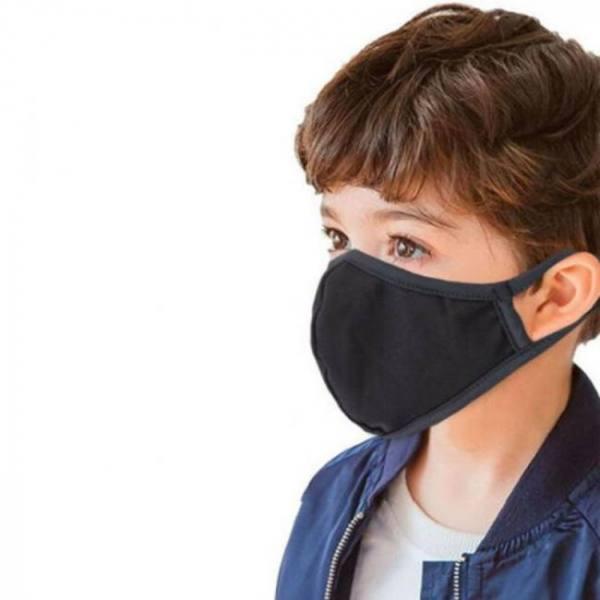 5pc kids mascarillas reusable cott