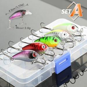 Donql 5/8/10pcs mixed colors fishi