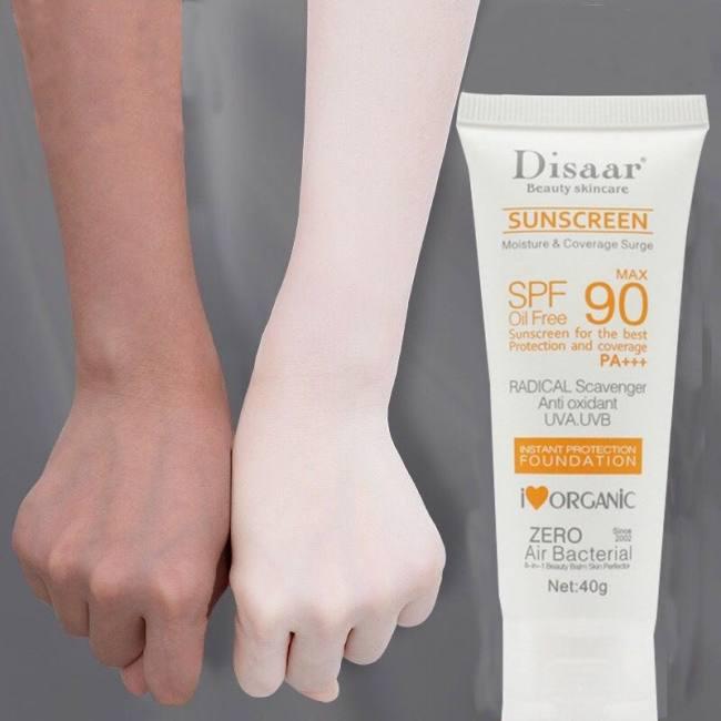 Facial body sunscreen whitening su