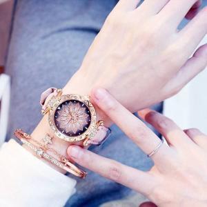 Luxury women watches bracelet set