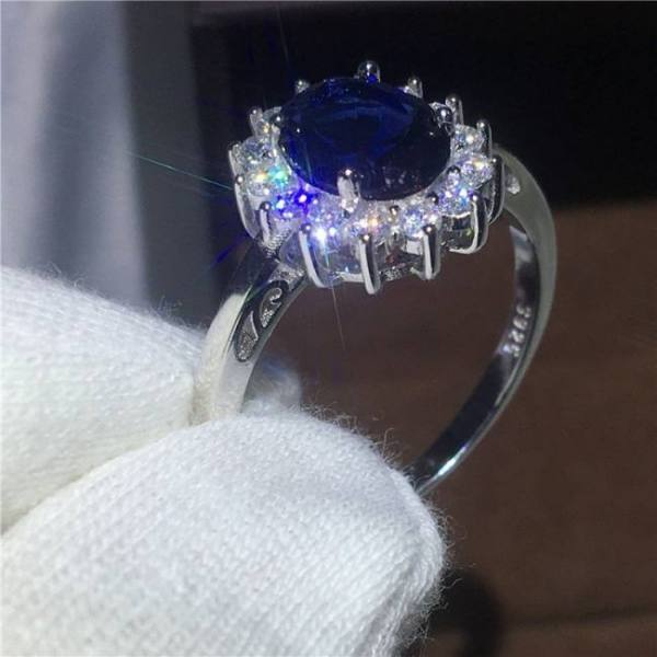 Royal jewelry princess diana 100%