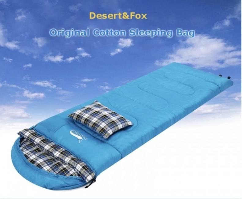 Desert&fox cotton flannel slee