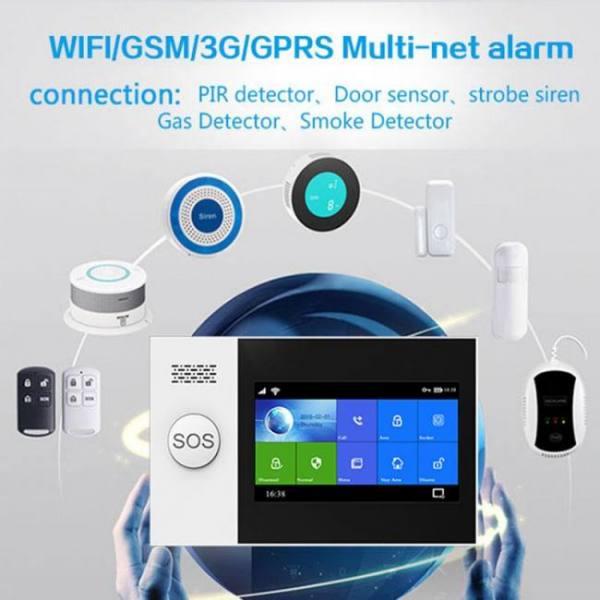 Ys tuya 433mhz gsm wireless burgla