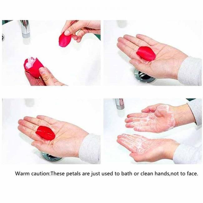 25-50pcs/set 3 size s/m/l soap ros