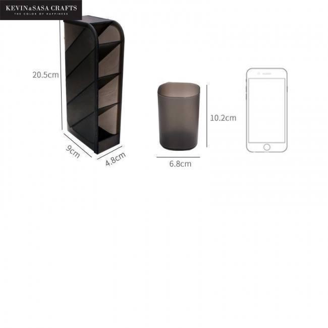 Desktop organizer storage statione