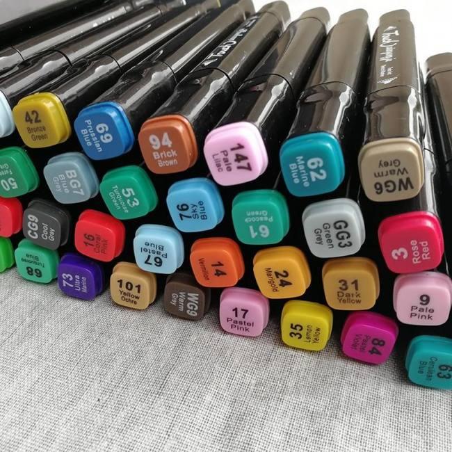 Double head brush pen art supplies