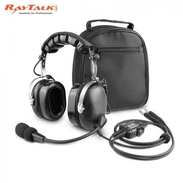 Aviation headset for pilots includ