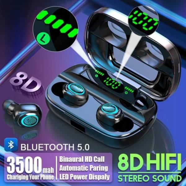 3500mah led bluetooth wireless ear