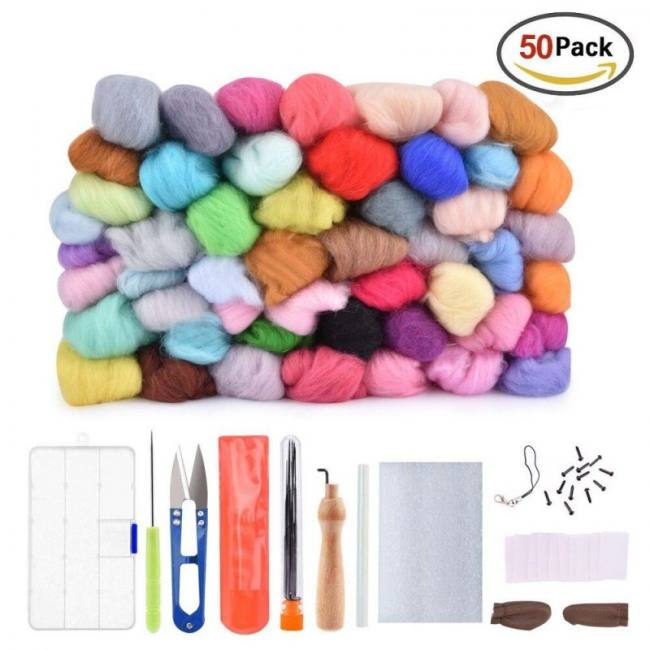 50 Wool Felt-Tool