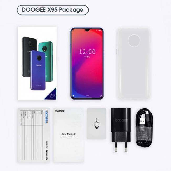 Doogee x95 android cellphones 16gb