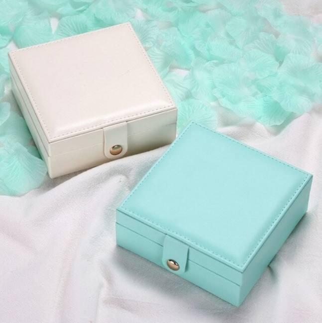 Jewelry multifunction leather box