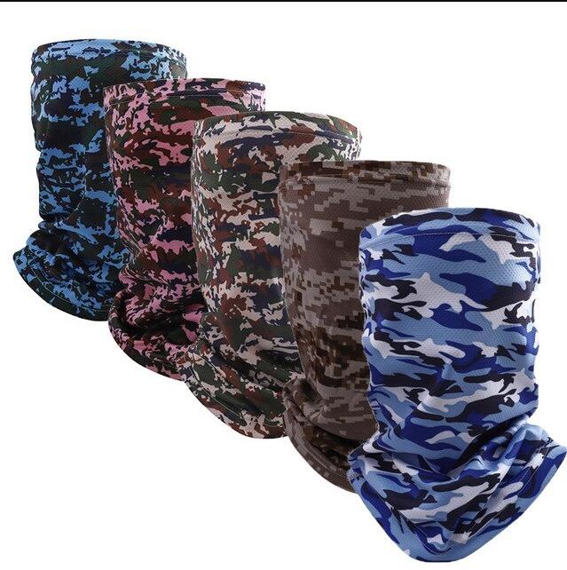 Unisex summer outdoor ice silk nec