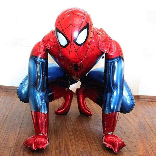 Big 3d foil spiderman balloons