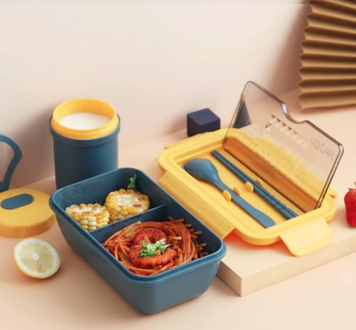Eco-friendly lunch box bpa free mi
