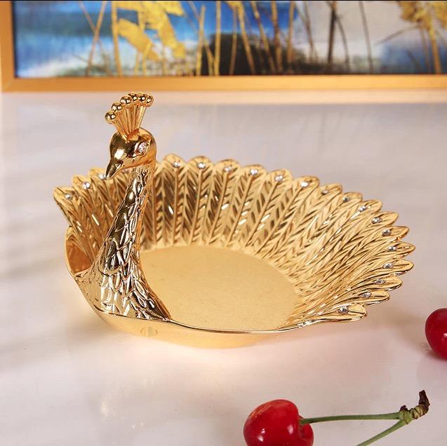 Elegant luxury delicate peacock st