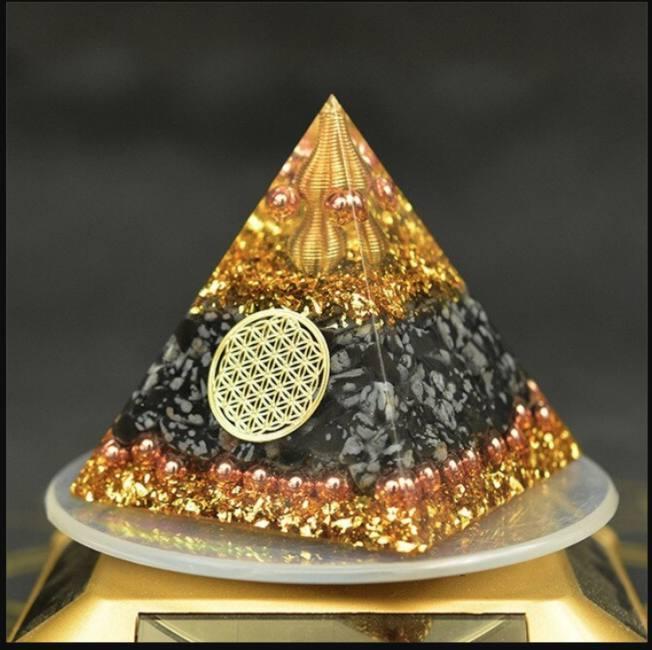 Reiki orgonite energy orgon pyrami