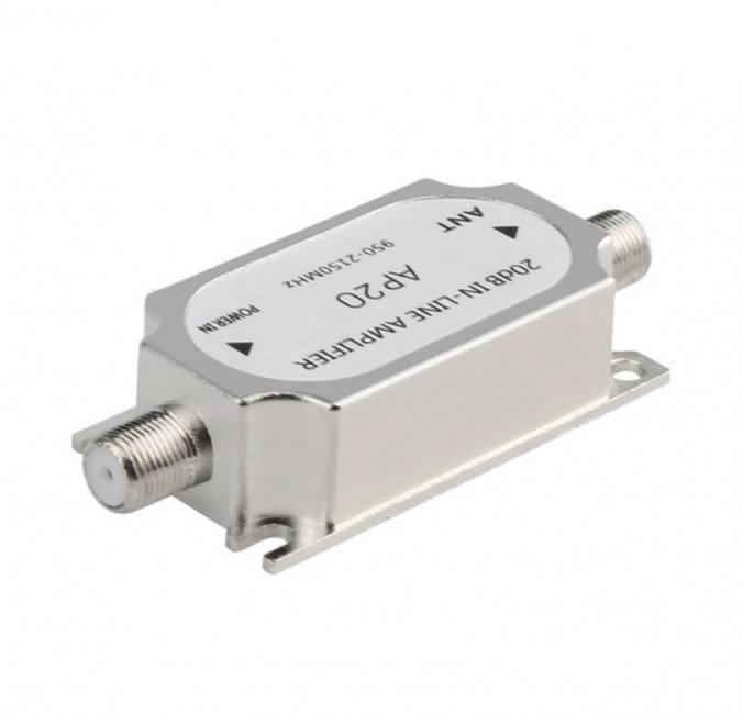 Satellite 20db inline amplifier bo