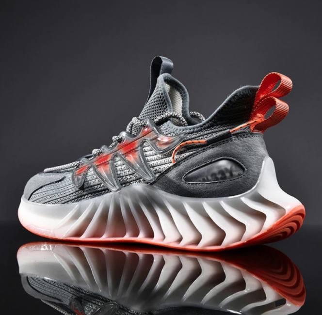 Spring trend mesh men shoes brand
