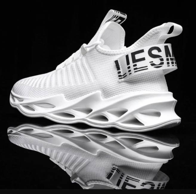 Women and men sneakers breathable