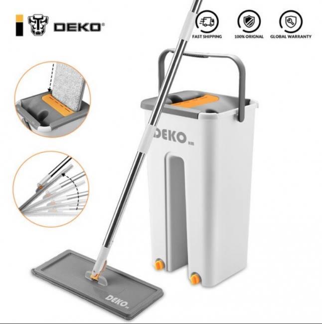 Deko mop with bucket hand free hou