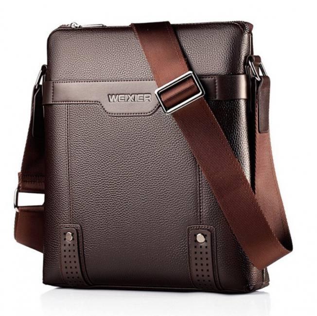 New men's messenger bag hand