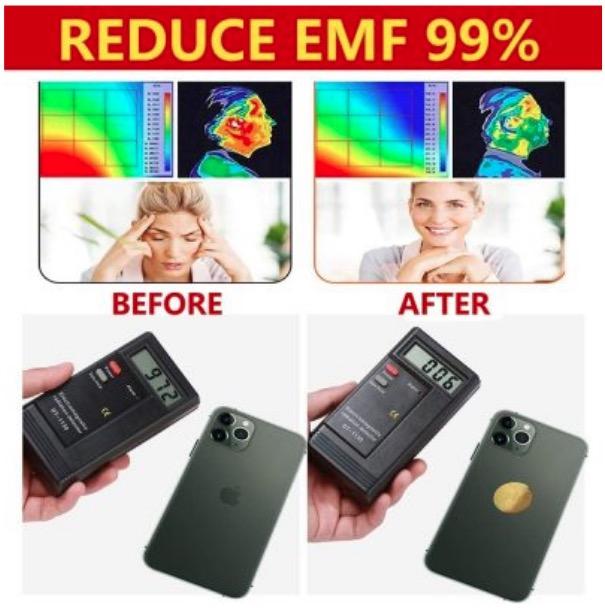 Emf harmful radiation blocker effective 99%