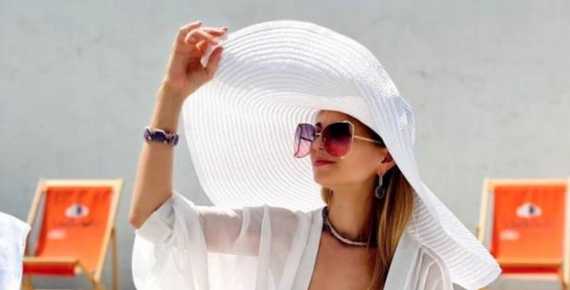 Summer hats beach towels 70×140 cm thermal bags