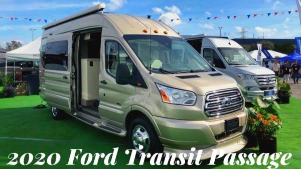 2020 ford transit camper van tour (256)