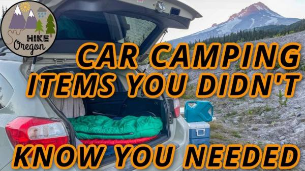 10 car camping items you didn't know you needed