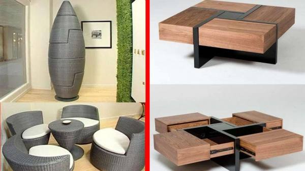 Amazing expandable tables  – space saving furniture ideas with genius designs