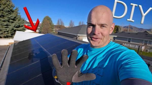 Do it yourself solar power? – easy diy solar panel installation!