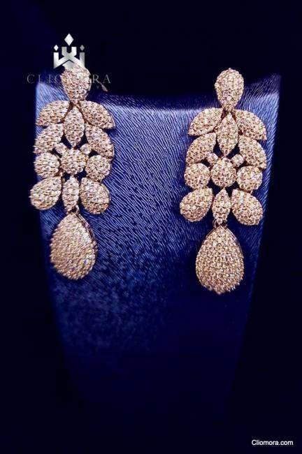 Cliomora jewelry set stylish modern cz cubic zirconia stones new 2021