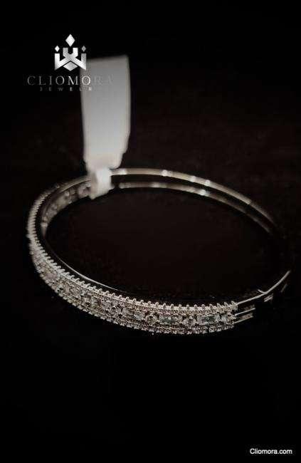 Catchy cliomora bracelet cz cubic zirconia zkb65