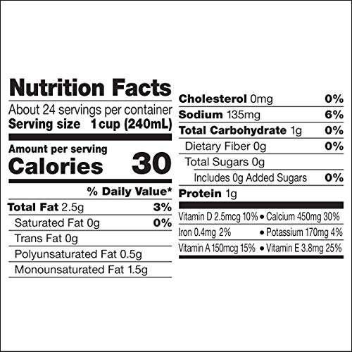 Silk shelf-stable almond milk, unsweetened vanilla, dairy-free, vegan, non-gmo project verified, 1 quart (pack of 6)